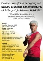 Erstes Bild des Beitrages Lehrgang mit Guiseppe Schembri (8.PG) in Berlin