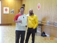 Erstes Bild des Beitrages Patrick erhält Auszeichnung als 2. Höherer Grad
