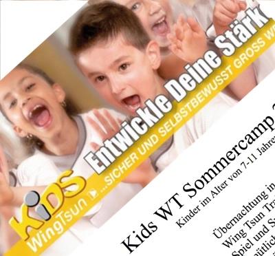 Kids WT Sommercamp - Selbstverteidigung und Kampfsport für Kinder